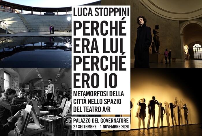"""Mostra fotografica di Luca Stoppini al Palazzo del Governatore: """"Perché era lui perché ero io. Metamorfosi della città nello spazio del teatro A/R"""""""