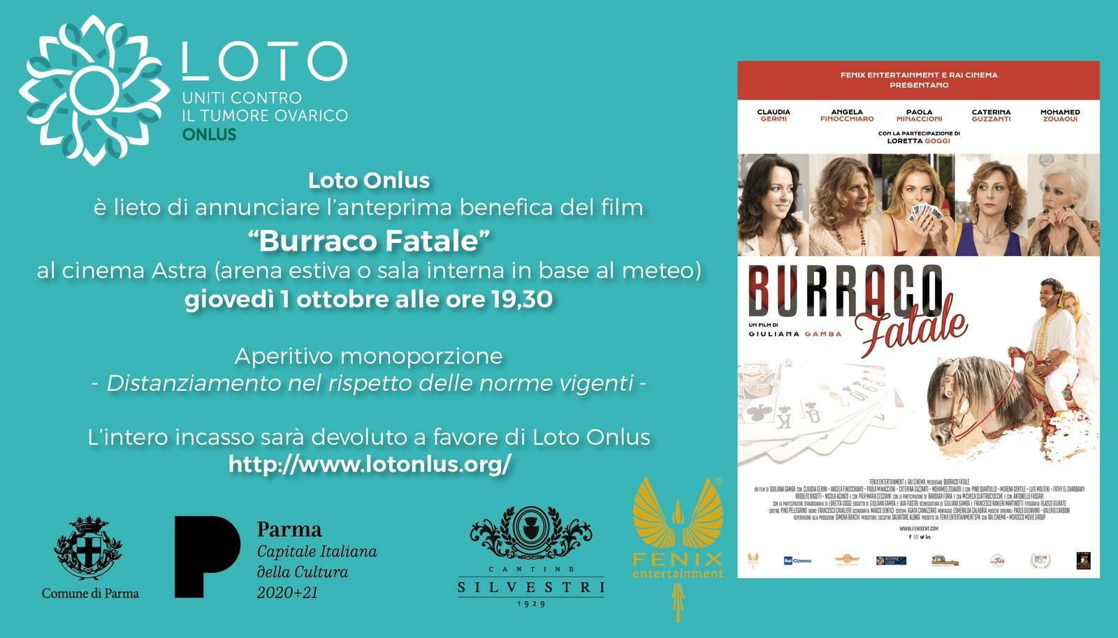 Burraco fatale al cinema Astra di Parma  Anteprima nazionale