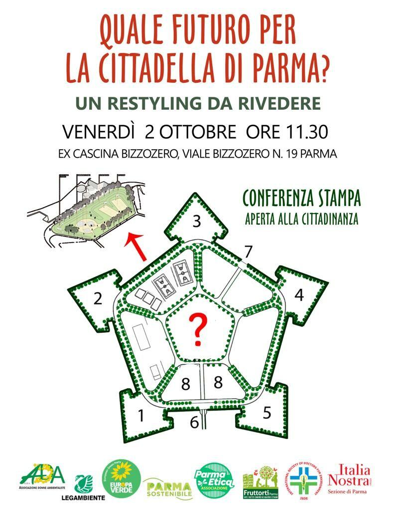 Quale futuro per la Cittadella di Parma? Un restyling da rivedere