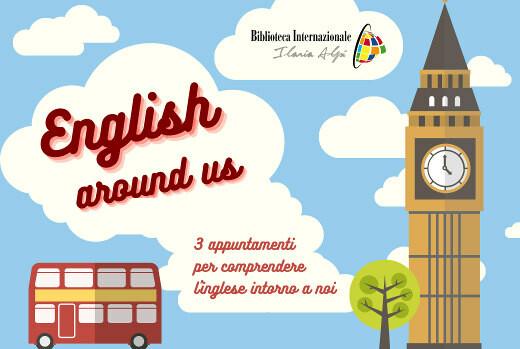 ENGLISH AROUND US    L'inglese intorno a noi alla Biblioteca Internazionale Ilaria Alpi