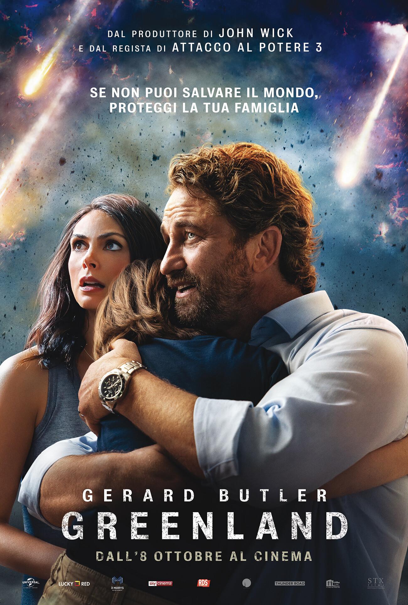GREENLAND al cinema Cristallo di Borgotaro