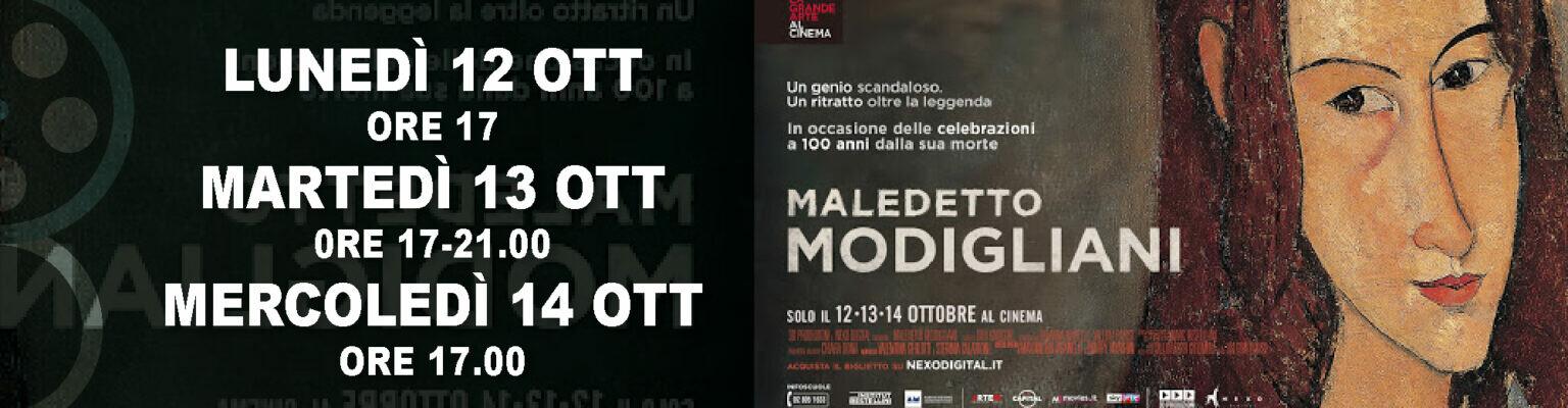 La grande arte al cinema ASTRA di Parma:  MALEDETTO MODIGLIANI