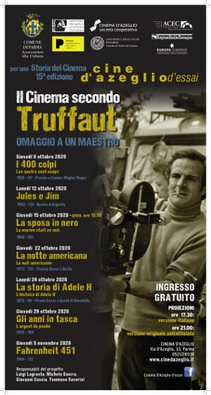 Per una storia del cinema Il cinema secondo Truffaut - omaggio a un maestro  al cinema D'azeglio