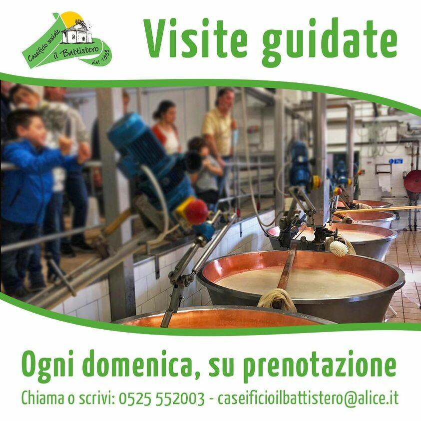 Visite guidate al Caseificio Il Battistero