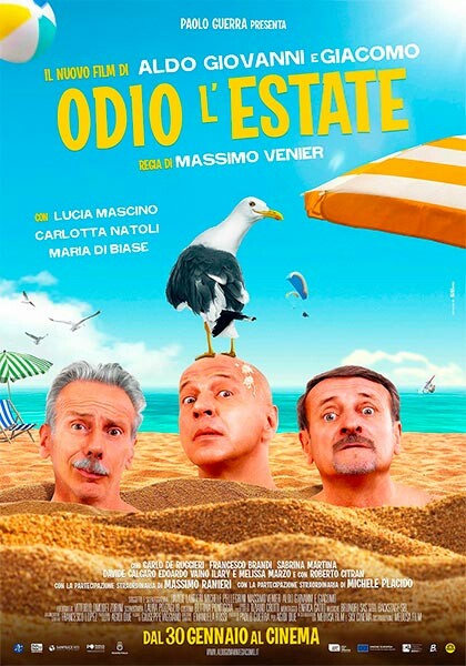 Ex Ragazzi al cinema: Odio l'estate di Aldo, Giovanni e Giacomo