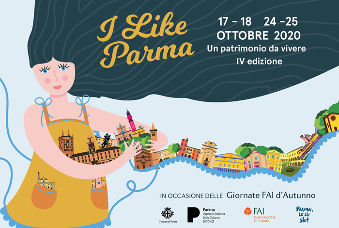 I Like Parma in occasione delle Giornate Fai d'Autunno