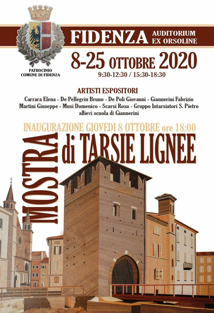 Mostra di tarsie lignee  al Palazzo delle Orsoline