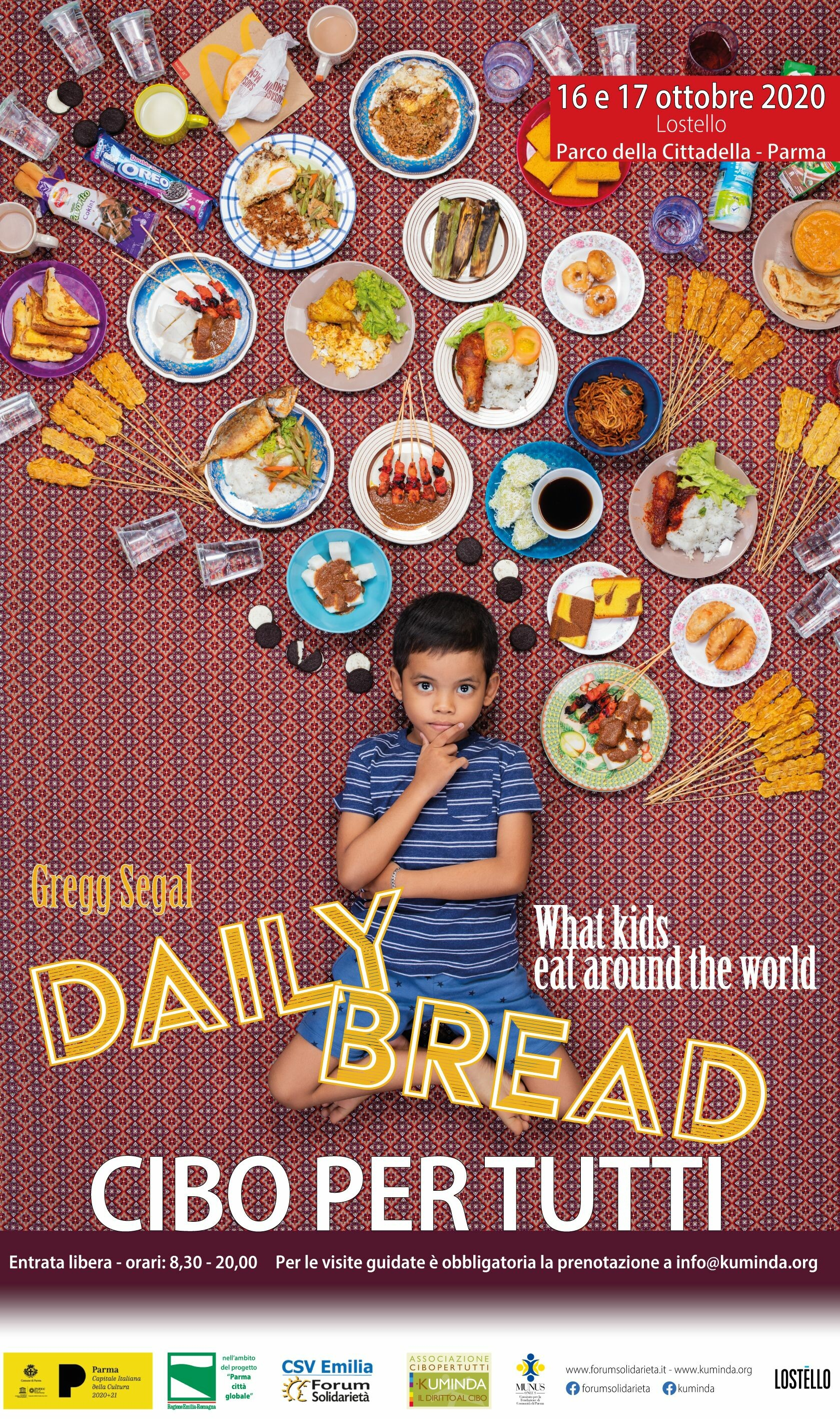Daily Bread – What kids eat around the world in mostra  a Lostello,