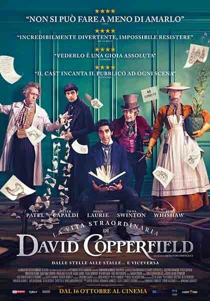 LA VITA STRAORDINARIA DI DAVID COPPERFIELD al cinema d'Azeglio