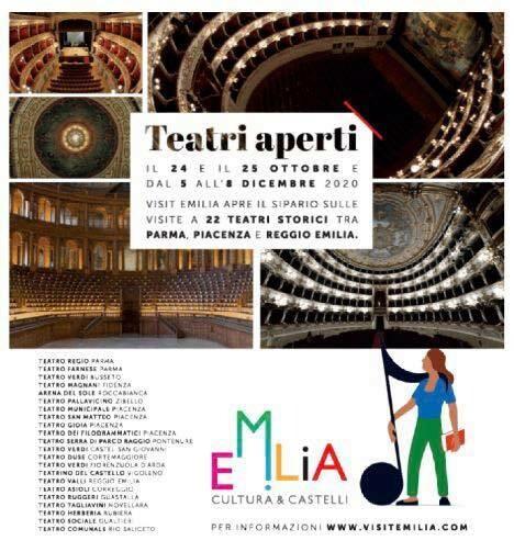 𝐓𝐞𝐚𝐭𝐫𝐢 𝐀𝐩𝐞𝐫𝐭𝐢 : Teatro Magnani Fidenza