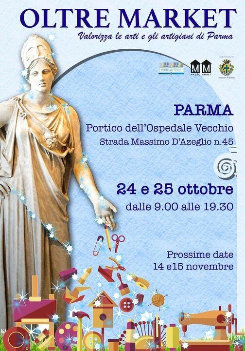 Ritorna Oltremarket Parma - le arti e gli artigiani 🌸