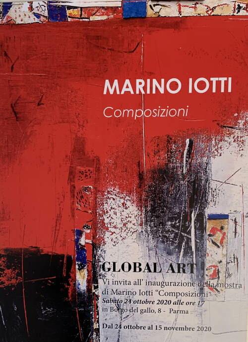 """MARINO IOTTI """"Composizioni"""" in mostra a GLOBAL ART"""