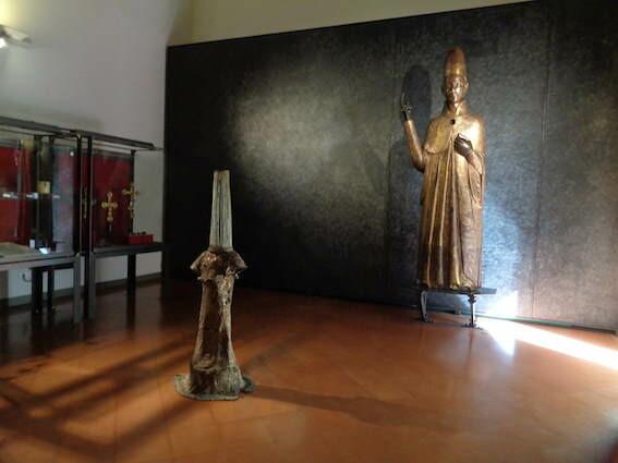 """Piergiorgio Colombara """"Le stanze le opere""""al  Museo Civico Medievale di  Bologna"""