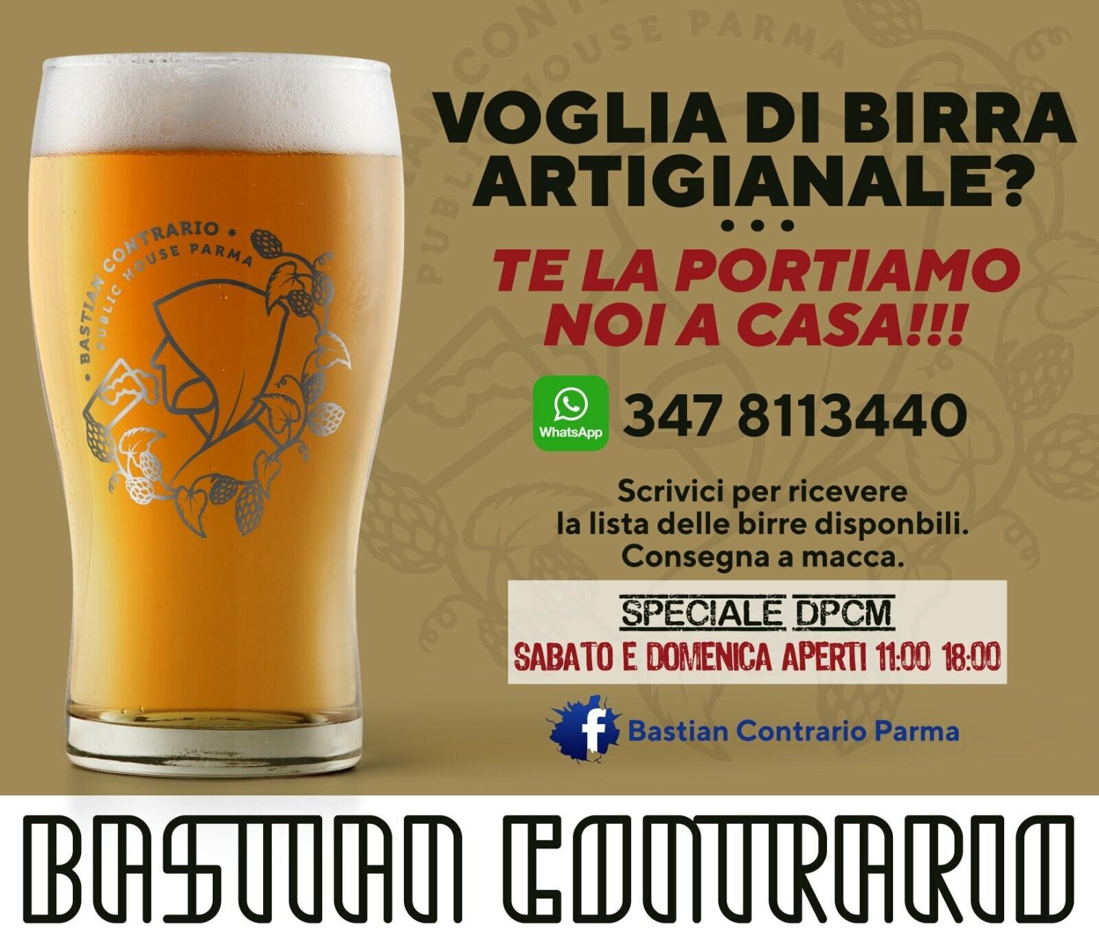 Bastian Contrario: apertura straordinaria sabato e domenica