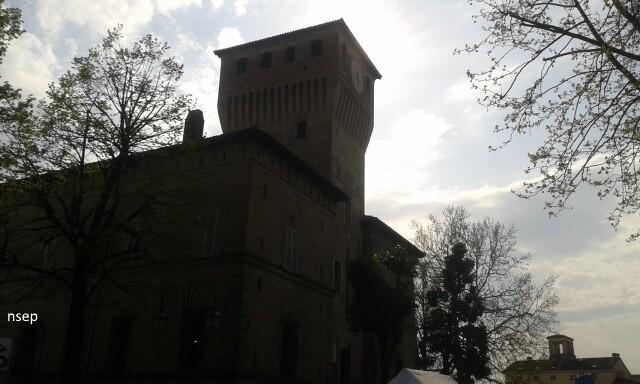 Visita guidata in notturna al Borgo di Sissa e al Torrione della Rocca dei  Terzi