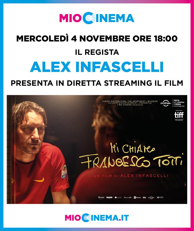Cinema D'Azeglio aderisce alla piattaforma MioCinema.it: in programma Mi chiamo Francesco Totti