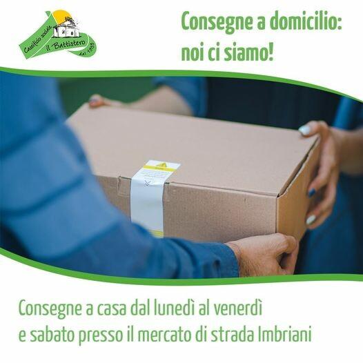 Il CASEIFICIO IL BATTISTERO consegna a domicilio a Parma