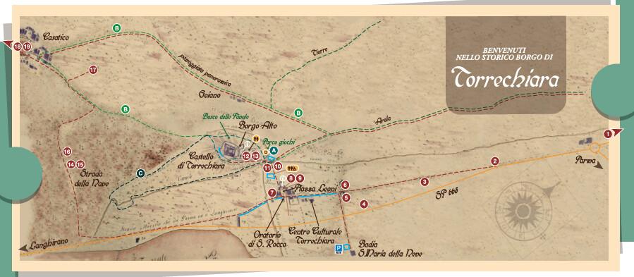 Ogni giorno Passeggiate autoguidate e gratuite intorno al Castello di Torrechiara