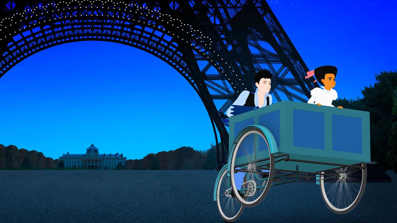 DILILI A PARIGI   di Michel Ocelot  (Francia, 2018) al cinema Edison virtuale
