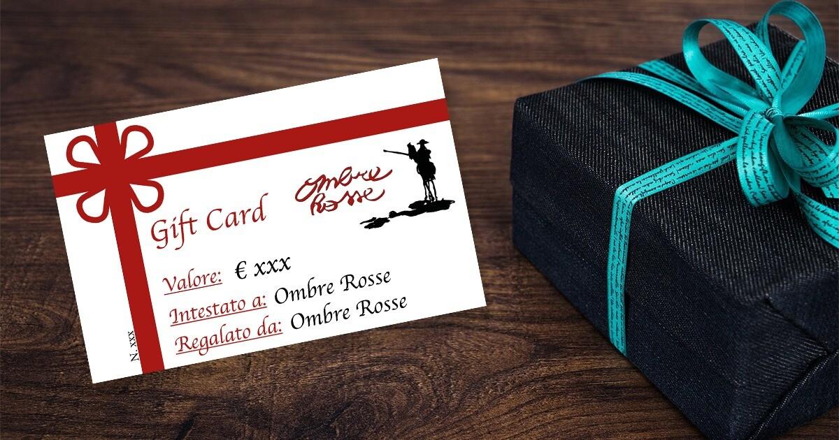 Gift Card  del Ristorante  enoteca Ombre Rosse