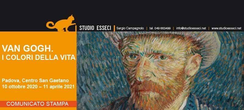 """Marco Goldin in diretta dalle sale della mostra di Padova con """"Van Gogh. Sei quadri, sei storie""""."""