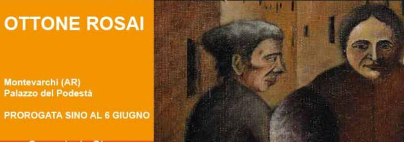 Ottone Rosai,  riapre la mostra di Montevarchi