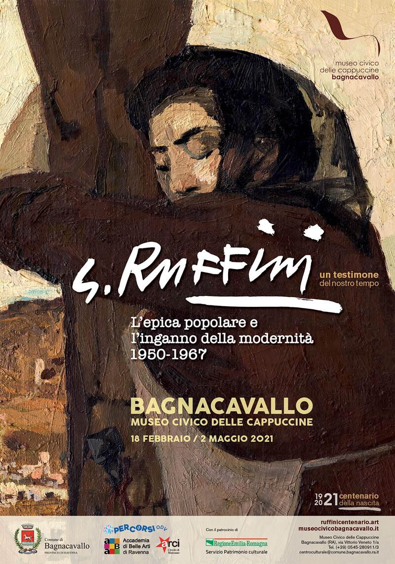 Giulio Ruffini. L'epica popolare e l'inganno della modernità al  Museo Civico delle Cappuccine di Bagnacavallo