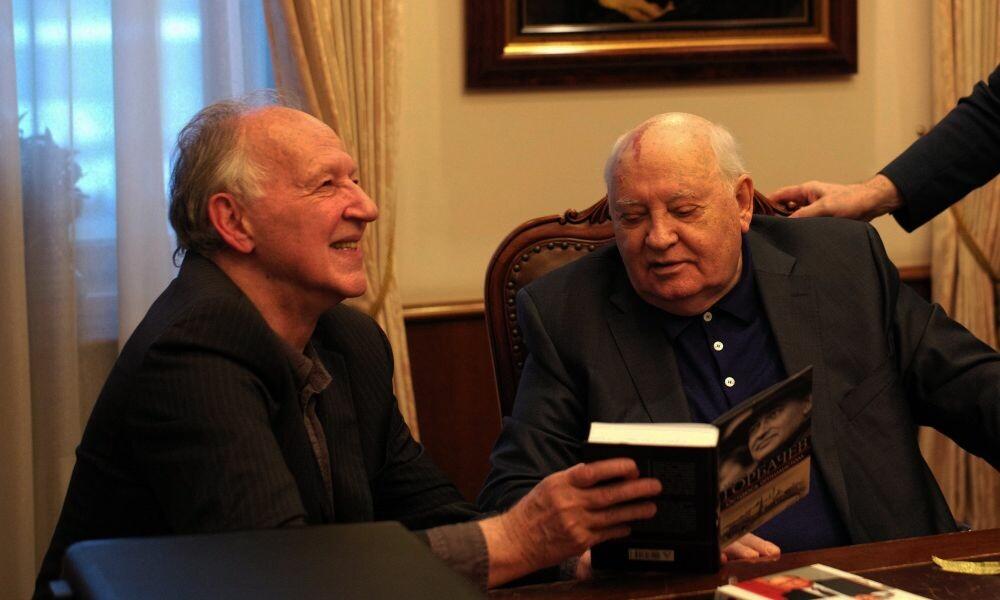 HERZOG INCONTRA GORBACIOV  di Werner Herzog e Andre Singer al cinema Edison Virtuale