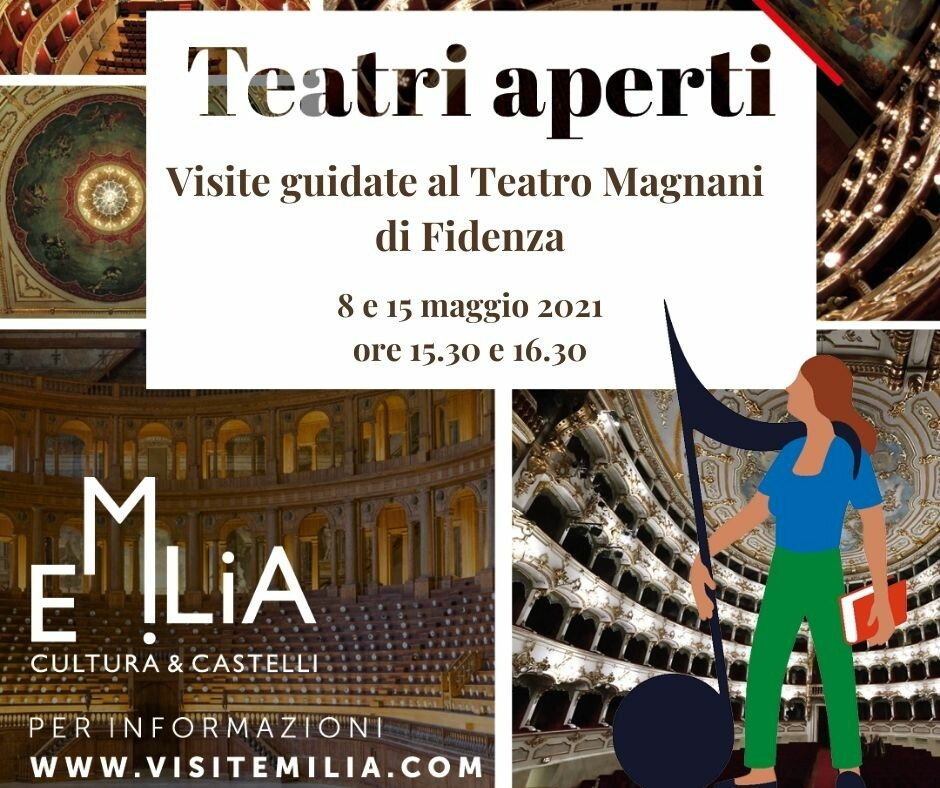 """#Fidenza partecipa all'iniziativa """"Teatri Aperti in Emilia"""""""