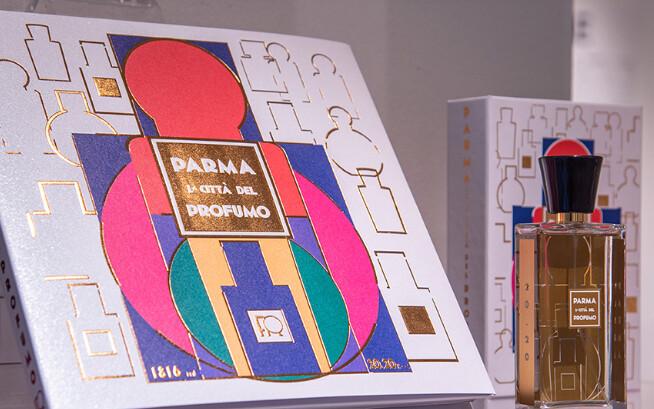 """""""L'Evoluzione e la Modernità""""  l'evoluzione e la modernità della filiera produttiva legata al profumo a Parma in mostra all'APE Parma Museo"""