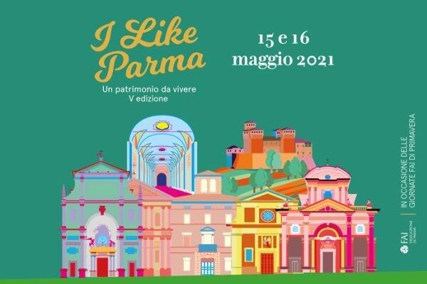 """La 5a edizione di """"I Like Parma"""", nelle Giornate FAI di Primavera 2021"""