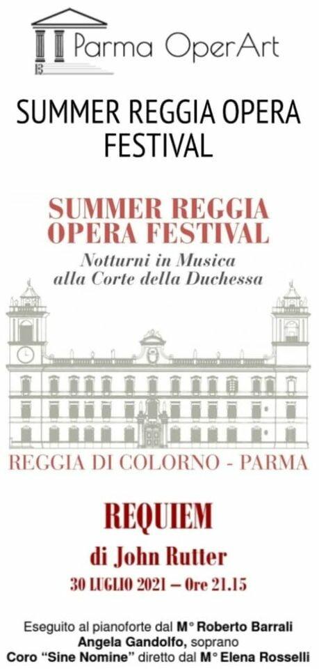"""""""REQUIEM"""" di John Rutter: Concerto nella splendida cornice della Cappella ducale di San Liborio di Colorno"""