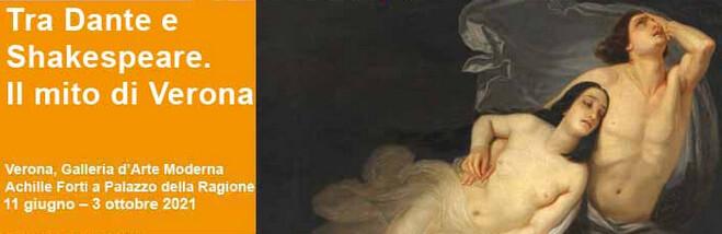 """""""Tra Dante e Shakespeare. Il mito di Verona"""" in mostra a palazzo della Ragione"""