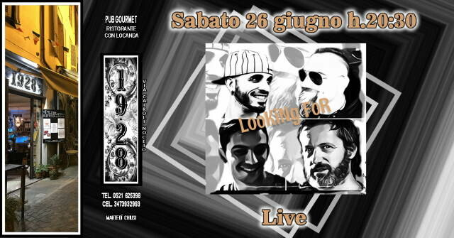 Il Ritorno della Musica Live al Pub Gourmet 19.28 Ristorante