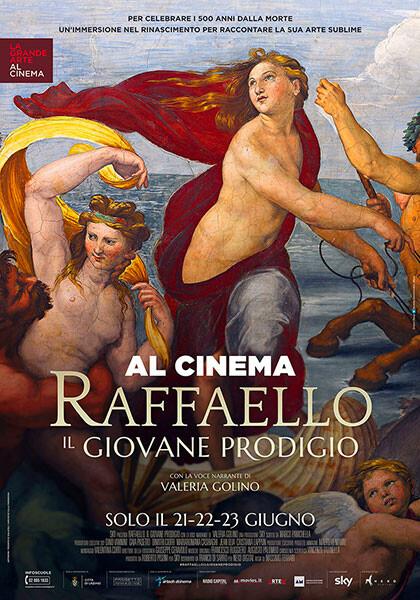 Al CINEMA ASTRA D'ESSAI-PARMA:RAFFAELLO. IL GIOVANE PRODIGIO  La grande arte al cinema