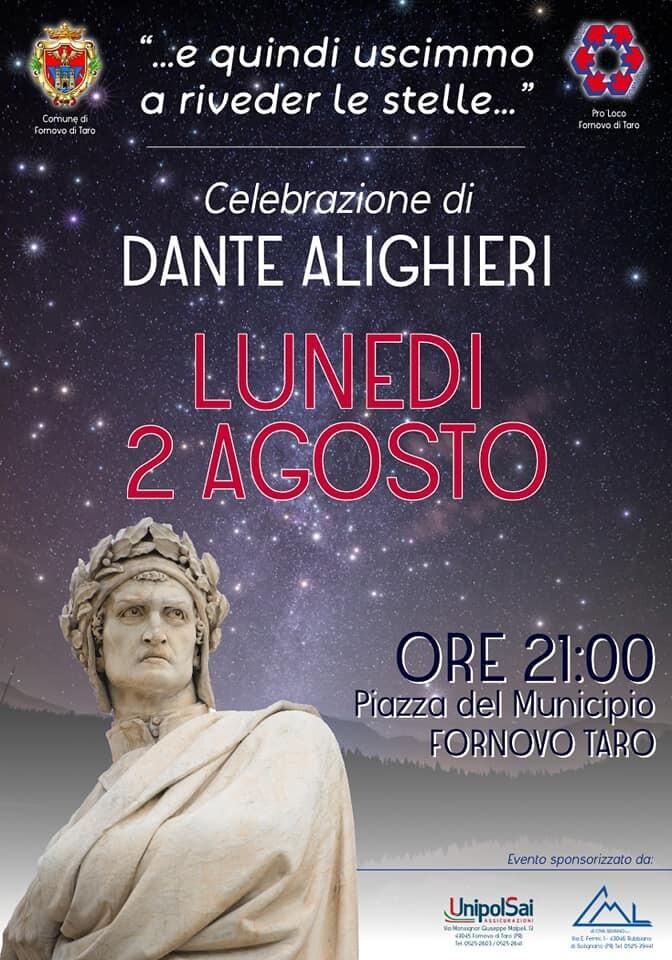 Celebrazione di Dante Alighieri a Fornovo