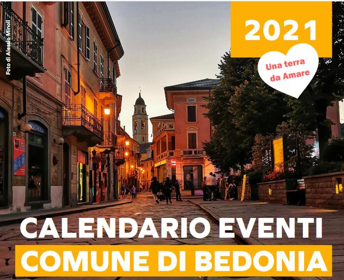Bedonia: Calendario manifestazioni  luglio 2021