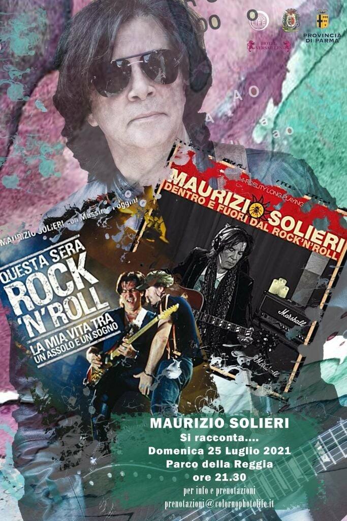 A Colorno  Maurizio Solieri si racconta