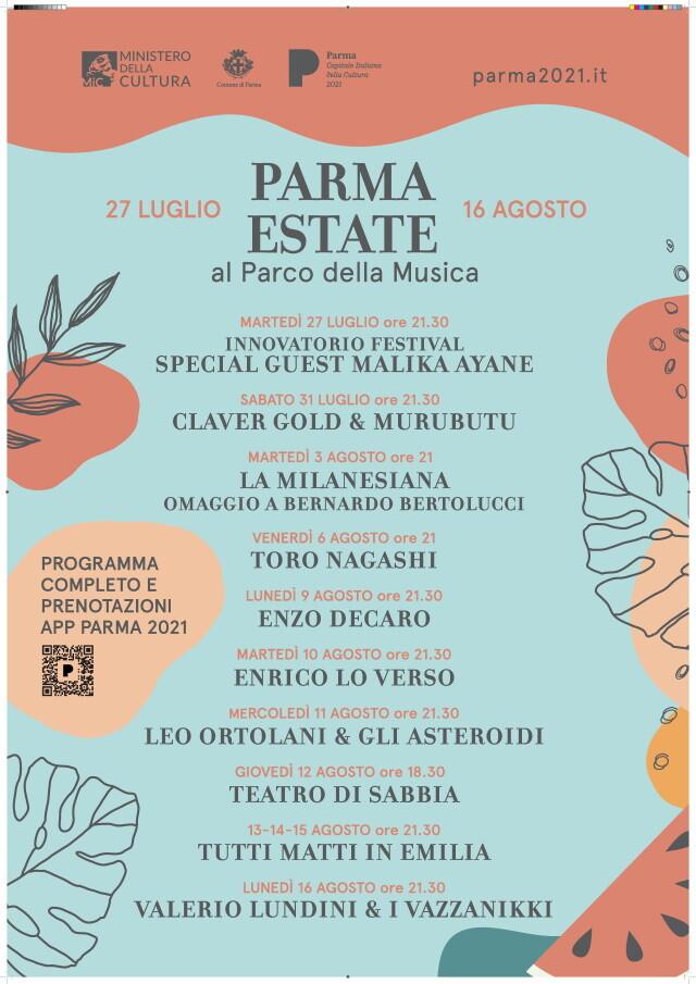 Parma Estate al Parco della Musica