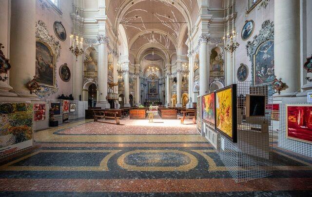 Esposizione opere in San Rocco di Luigi Boschi