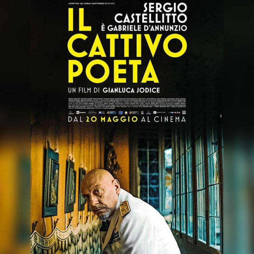 Al cinema Cristallo di Borgotaro IL CATTIVO POETA  di Gianluca Iodice.  Con: Sergio Castellitto,