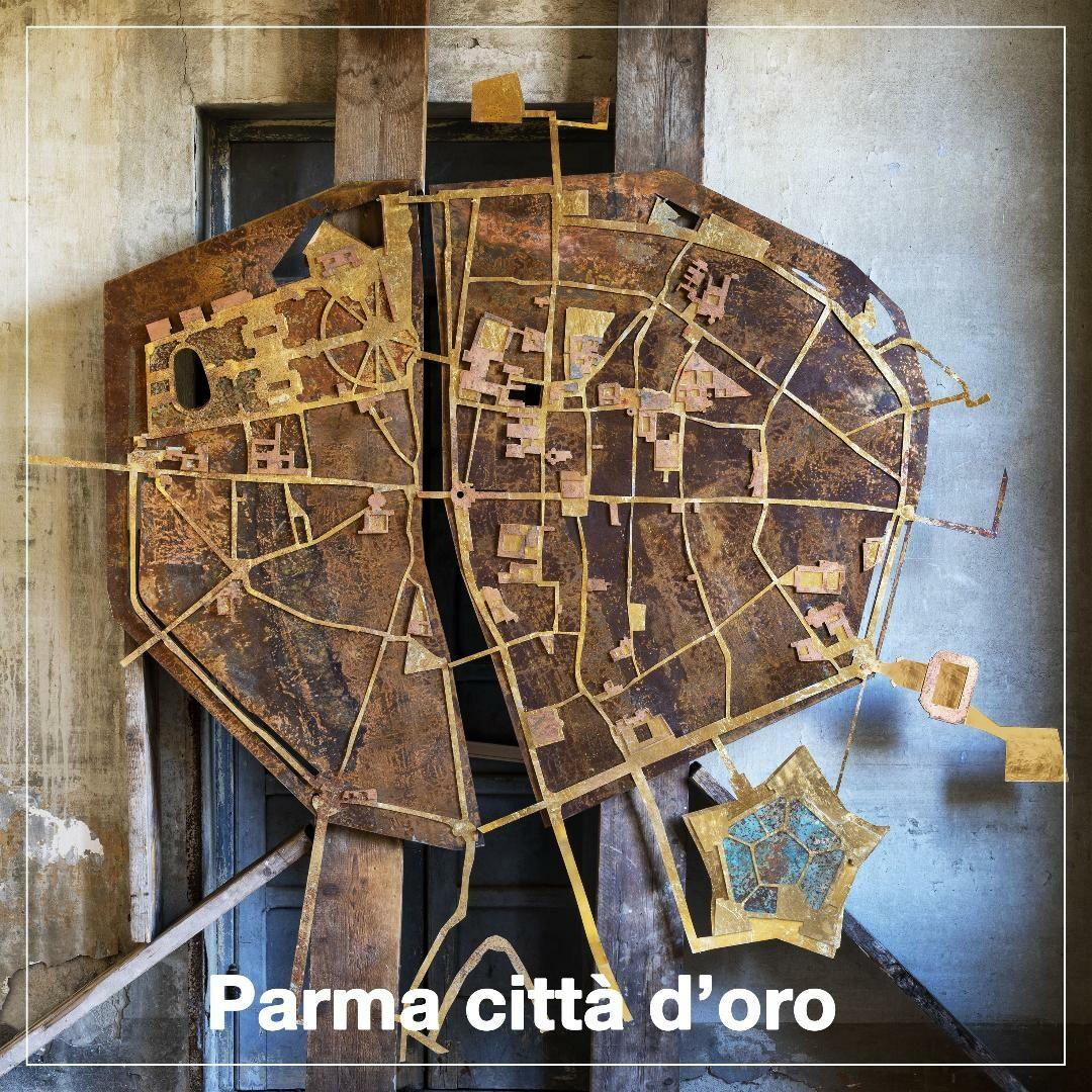 PARMA CITTÀ D'ORO     Scenari da condividere tra Storia e Progetto  a   Palazzo Bossi Bocchi