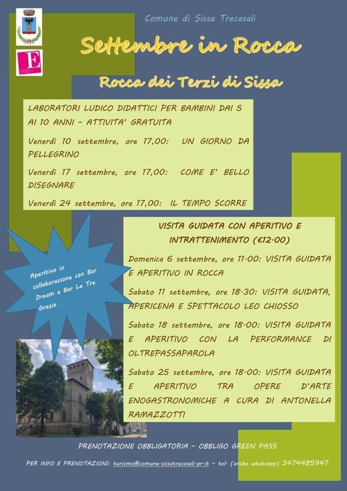 Settembre in Rocca  alla Rocca dei Terzi