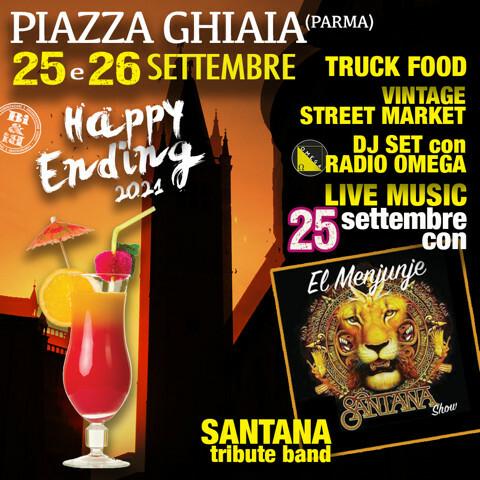 Happy Ending in Piazza Ghiaia