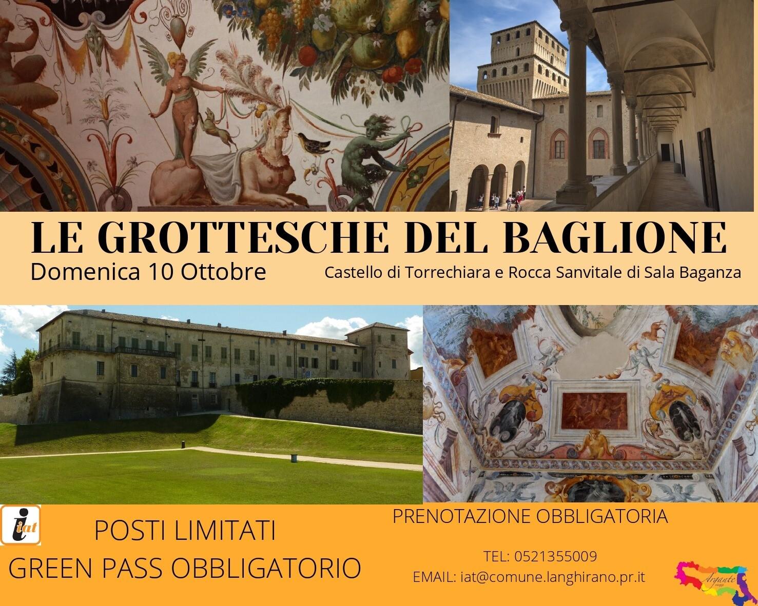 Le Grottesche del Baglione del castello di Torrechiara
