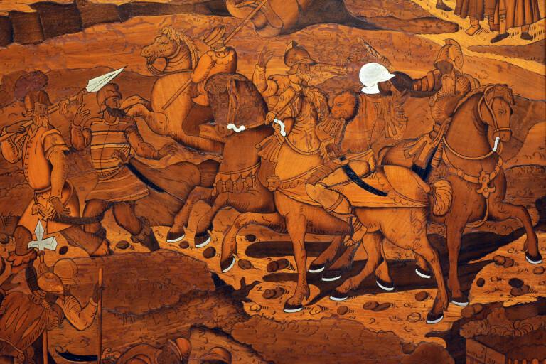 """Fuori dai cori. Tre """"quadri di tarsia"""" di fra Damiano Zambelli da Bergamo al  Museo Davia Bargellini,Bologna"""