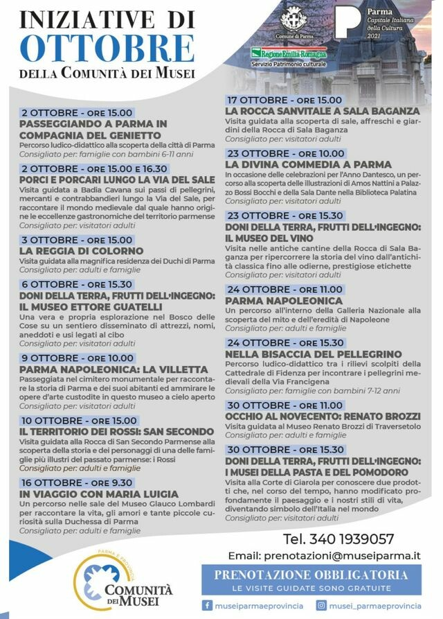 Comunità dei Musei di Parma e provincia