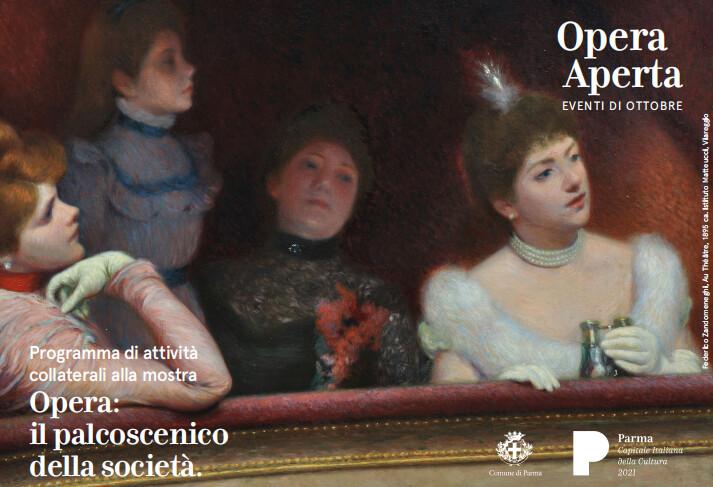 Opera Aperta Al via da giovedì 7 ottobre a Palazzo del Governatore  il programma di iniziative musicali gratuite collaterali  alla mostra Opera