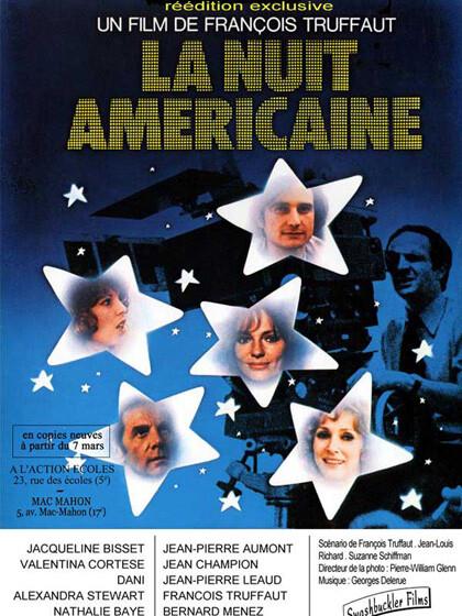Il Cinema Ritrovato:  EFFETTO NOTTE (La Nuit Americaine)  di François Truffaut. al cinema Astra Parma