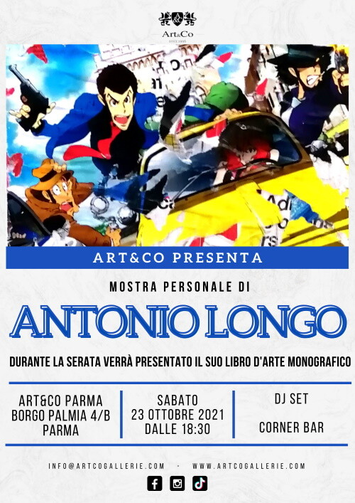 ART&CO Parma   presenta  a personale di  Antonio Longo